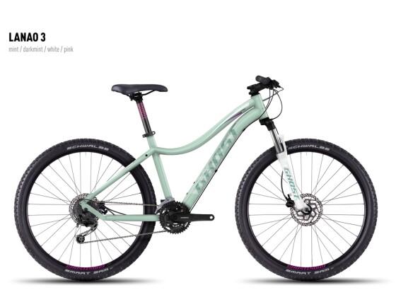 Mountainbike Ghost Lanao 3 mint-darkmint-white-pink 2016