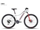 Mountainbike Ghost Lanao 4 white-red-darkred-blue