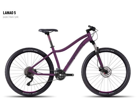 Mountainbike Ghost Lanao 5 purple-black-pink 2016