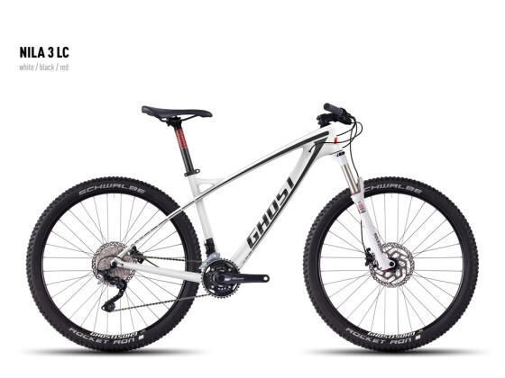 Mountainbike Ghost Nila 3 LC white/black/red 2016