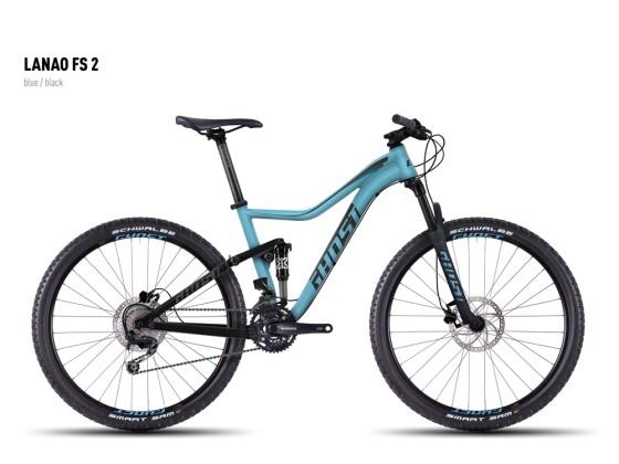 Mountainbike Ghost Lanao FS 2 blue/black 2016