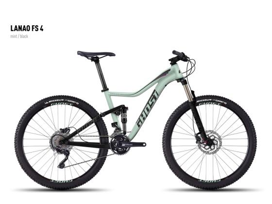Mountainbike Ghost Lanao FS 4 mint/black 2016