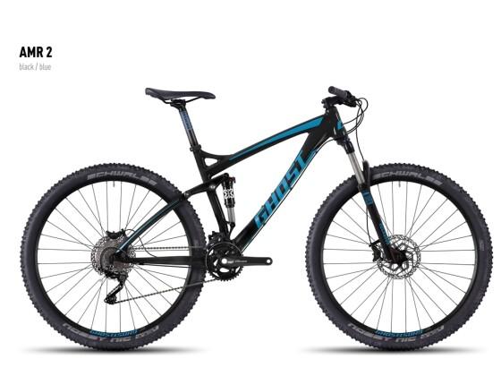 Mountainbike Ghost AMR 2 black/blue 2016