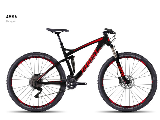 Mountainbike Ghost AMR 6 black/red 2016