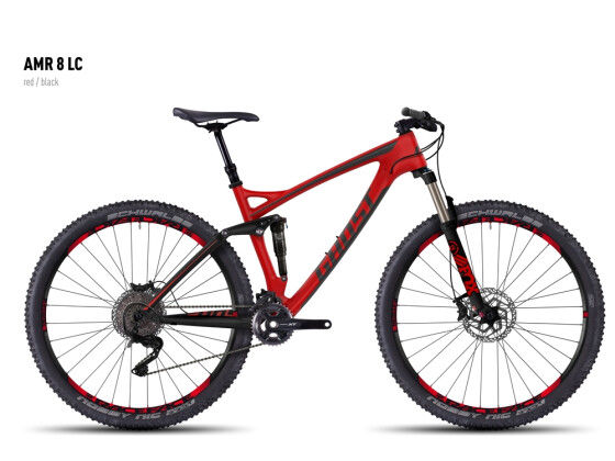 Mountainbike Ghost AMR 8 LC red/black 2016