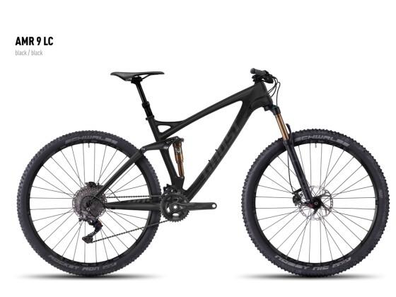 Mountainbike Ghost AMR 9 LC black/black 2016