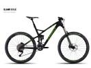 Mountainbike Ghost SLAMR X 8 LC black/green/darkgreen