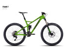 Mountainbike Ghost FRAMR 7 green/black