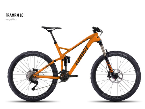 Mountainbike Ghost FRAMR 8 LC orange/black 2016