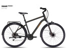 Trekkingbike Ghost Square Trekking 5 black/orange