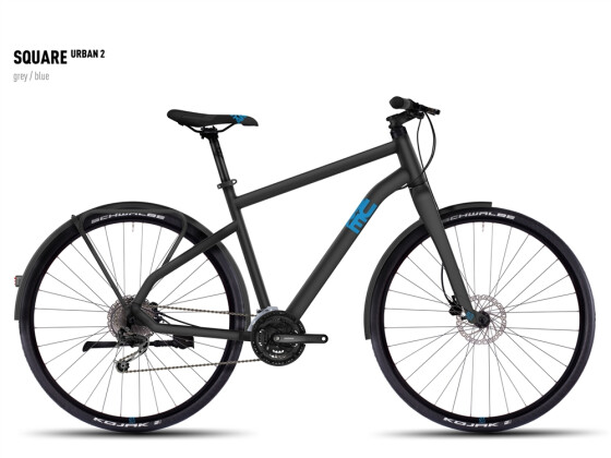 Mountainbike Ghost Square Urban 2 gray/blue 2016