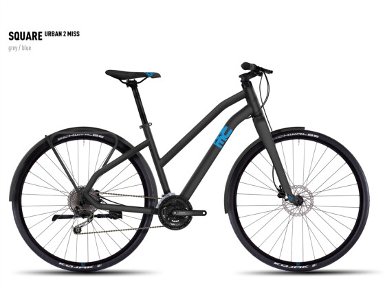 Mountainbike Ghost Square Urban 2 Miss gray/blue 2016
