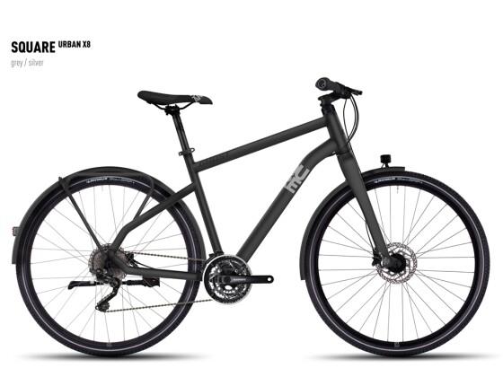 Mountainbike Ghost Square Urban X 8  gray/silver 2016