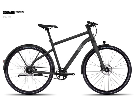 Mountainbike Ghost Square Urban X 9 gray/gray 2016