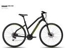 Crossbike Ghost Square Cross 4 Miss black/limegreen