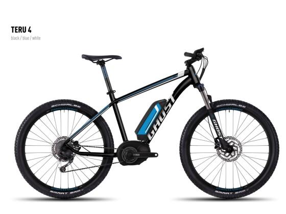 E-Bike Ghost Teru 4 black/blue/white 2016