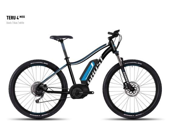 E-Bike Ghost Teru 4 Miss black/blue/white 2016