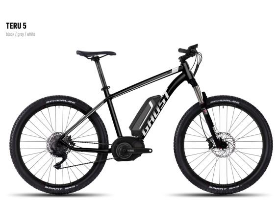E-Bike Ghost Teru 5 black/gray/white 2016