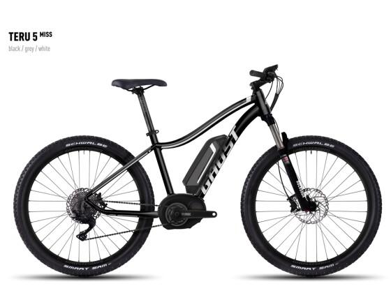 E-Bike Ghost Teru 5 Miss black/gray/white 2016