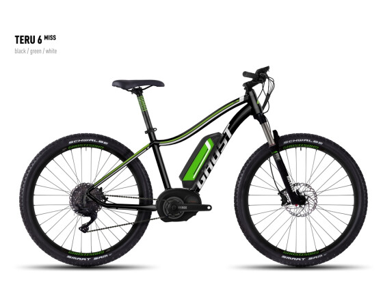 E-Bike Ghost Teru 6 Miss black/green/white 2016