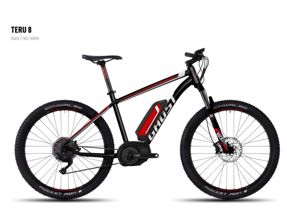 E-Bike Ghost Teru 8 black/red/white 2016