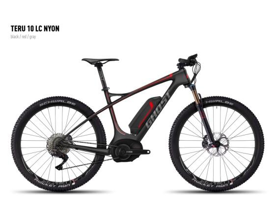 E-Bike Ghost Teru 10 LC Nyon black/red/gray 2016