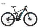 E-Bike Ghost Teru FS 9 black/blue/orange