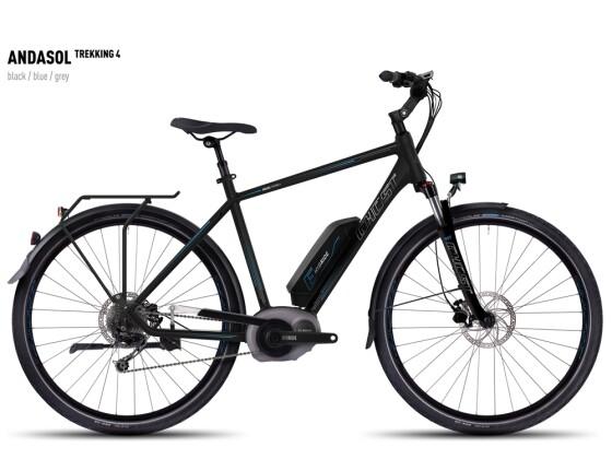 E-Bike Ghost Andasol Trekking 4 black/blue/gray 2016