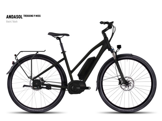 E-Bike Ghost Andasol Trekking 9 Miss black/black 2016