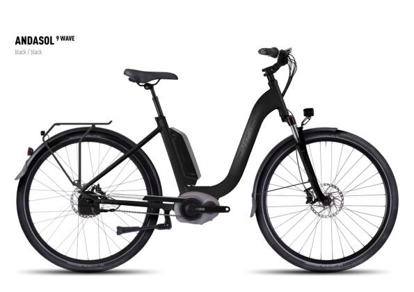 E-Bike Ghost Andasol 9 Wave black/black 2016