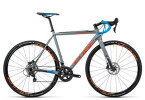 Rennrad Cube Cross Race SL grey´n´flashorange