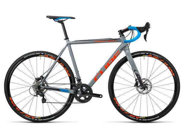 Rennrad Cube Cross Race SL grey´n´flashorange 2016