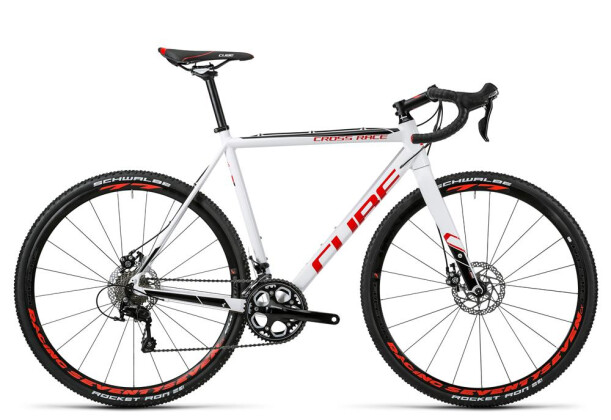 Rennrad Cube Cross Race white´n´red 2016