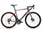 Rennrad Cube Agree C:62 SLT Disc grey´n´flashorange