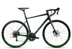 Rennrad Cube Attain SL Disc black´n´green