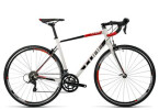 Rennrad Cube Attain Pro white´n´black