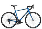 Rennrad Cube Attain blue´n´black