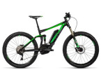 E-Bike Cube Stereo Hybrid 140 HPA Race 500 27.5 black´n´green