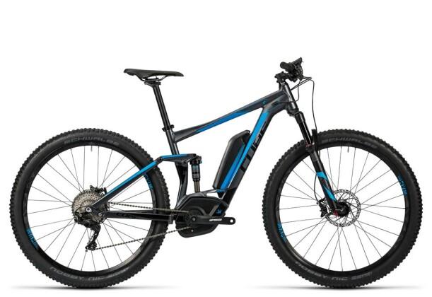 E-Bike Cube Stereo Hybrid 120 HPA Race 500 iridium´n´flashblue 2016