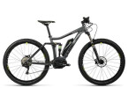 E-Bike Cube Stereo Hybrid 120 HPA Pro 400 29 grey´n´green