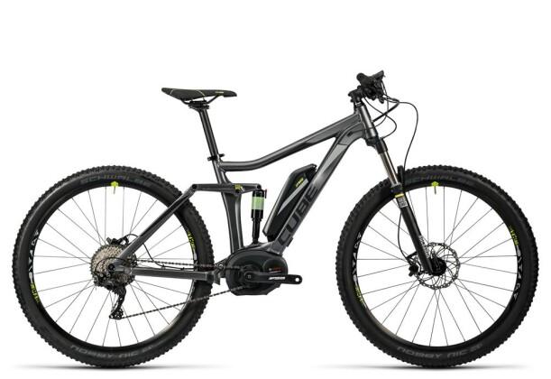 E-Bike Cube Stereo Hybrid 120 HPA Pro 400 29 grey´n´green 2016