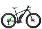 E-Bike Cube Nutrail Hybrid 500 black´n´green