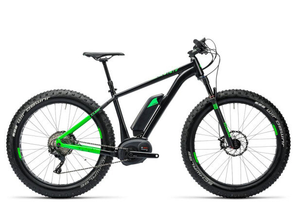 E-Bike Cube Nutrail Hybrid 500 black´n´green 2016