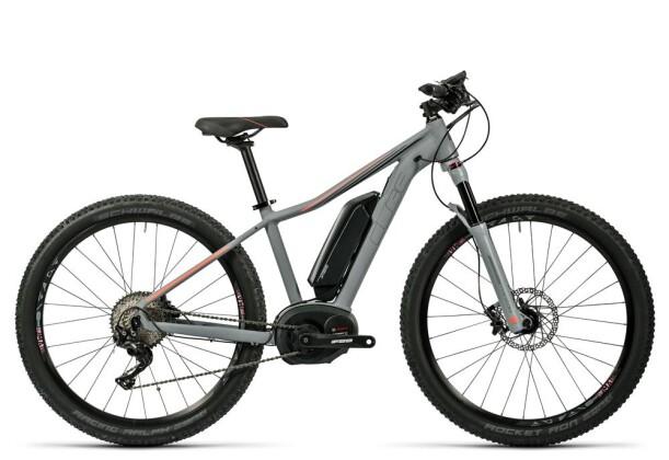 E-Bike Cube Access WLS Hybrid SL 500 grey´n´neoncoral 2016