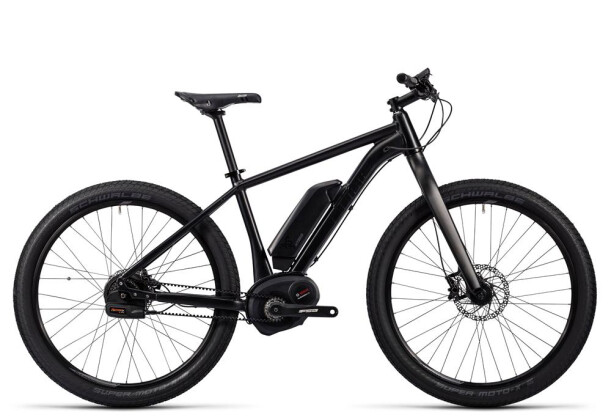 E-Bike Cube SUV Hybrid Race 500 27.5 black´n´grey 2016