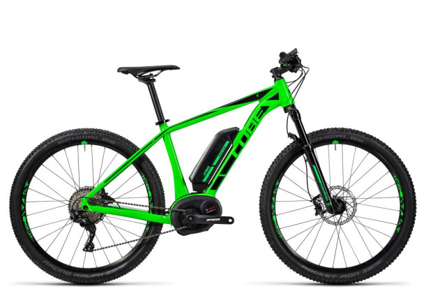 E-Bike Cube Reaction Hybrid HPA SL 500 green´n´black 2016