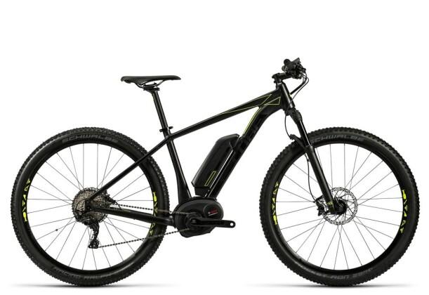 E-Bike Cube Reaction Hybrid HPA SL 500 black´n´flashyellow 2016