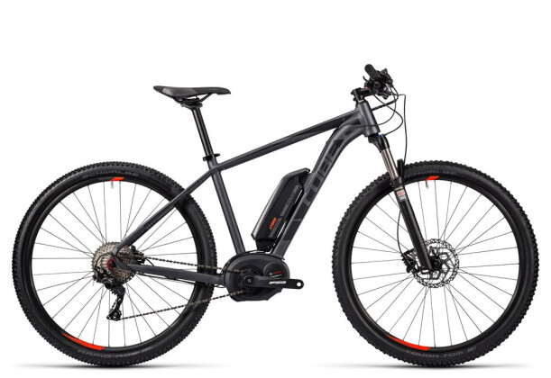 E-Bike Cube Reaction Hybrid HPA Race 400 grey´n´flashred 2016