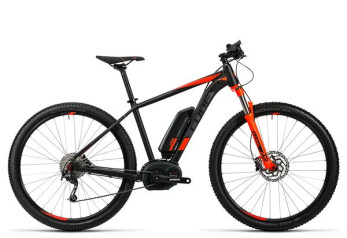 E-Bike Cube Reaction Hybrid HPA Pro 400 black´n´red