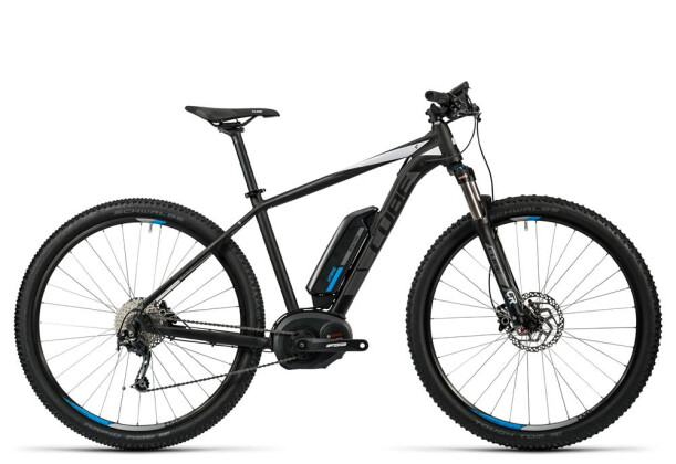 E-Bike Cube Reaction Hybrid HPA Pro 400 black´n´white 2016